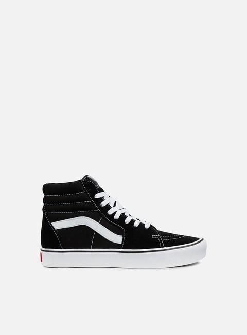 sneakers vans sk8 hi lite black white