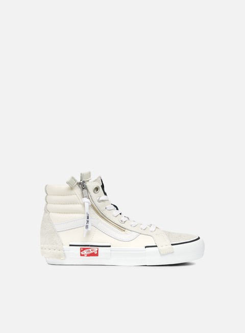 sneakers vans sk8 hi lx cut and paste marshmallow true white