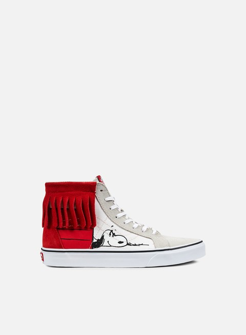 sneakers vans sk8 hi moc peantus dog house bone