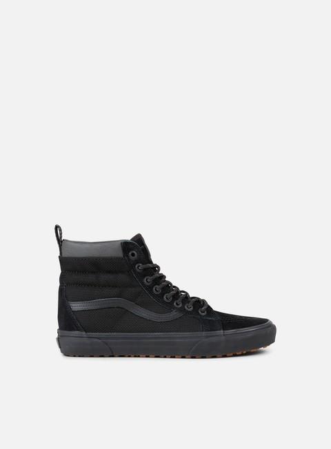 sneakers vans sk8 hi mte black ballistic