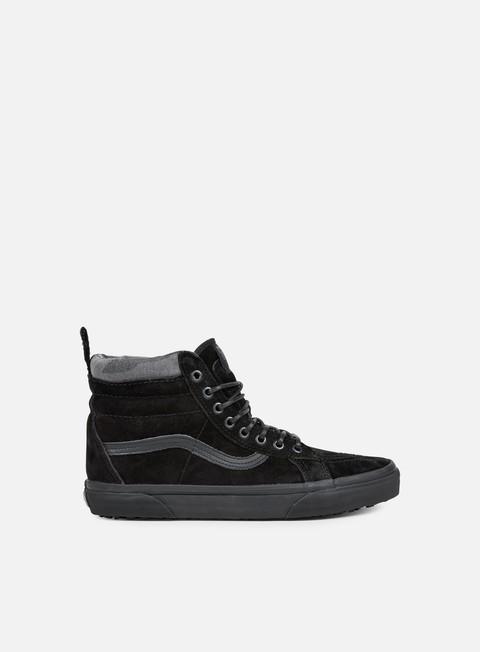sneakers vans sk8 hi mte black black camo