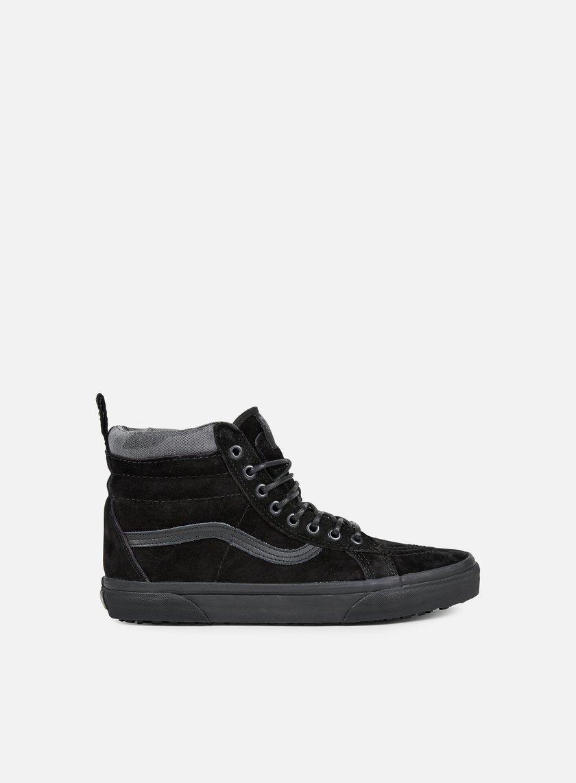 Vans - Sk8 Hi MTE, Black/Black/Camo