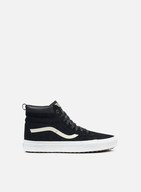 sneakers vans sk8 hi mte black night