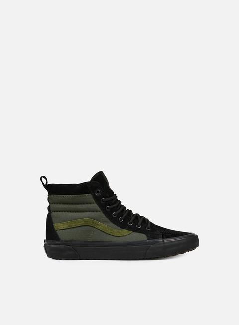 sneakers vans sk8 hi mte black rosin