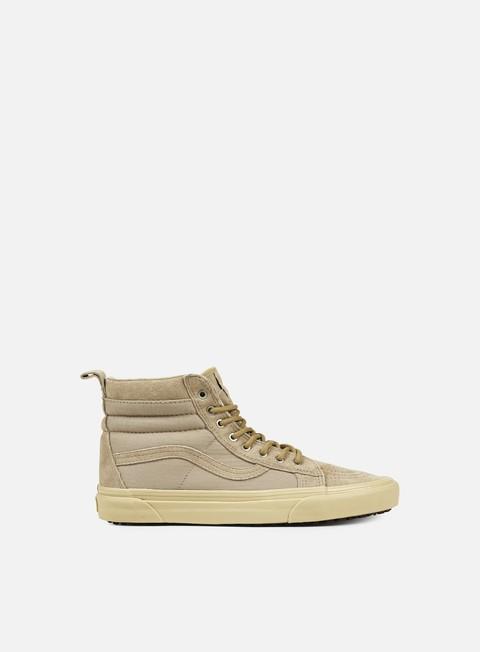 sneakers vans sk8 hi mte khaki light khaki