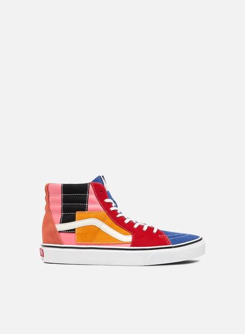 Outlet e Saldi Sneakers Alte Vans Sk8 Hi Patchwork