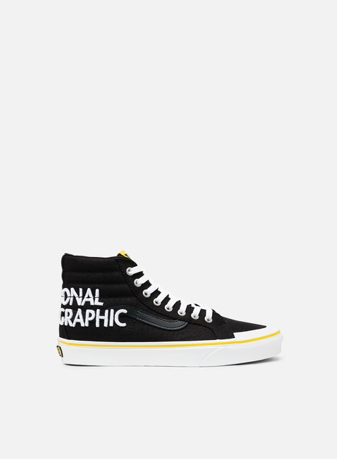 Sneakers Alte Vans Sk8 Hi Reissue 13 National Geographic
