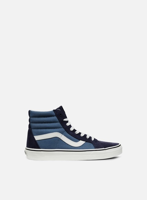 sneakers vans sk8 hi reissue 2 tone parisian night blue