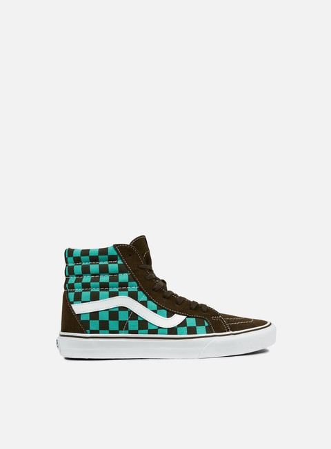 sneakers vans sk8 hi reissue 50th checkerboard ceramic