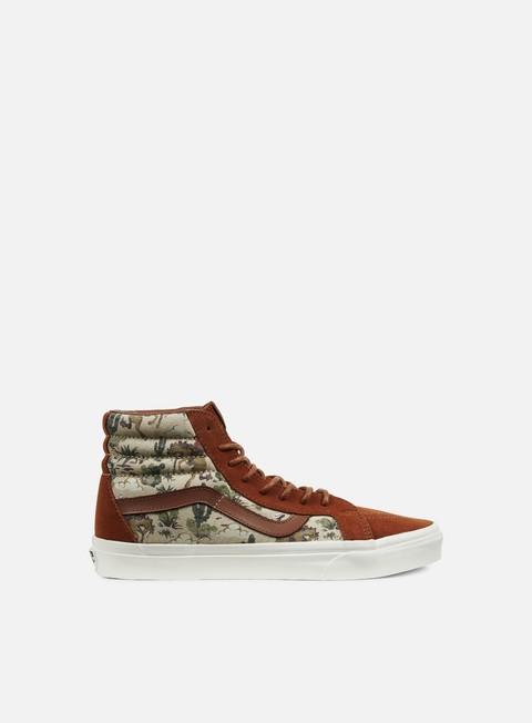 High Sneakers Vans Sk8 Hi Reissue Desert Cowboy