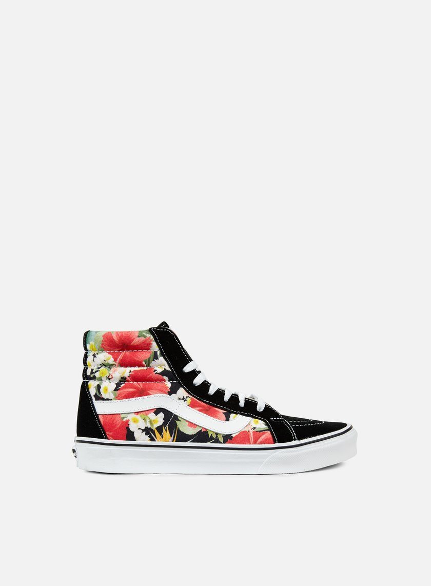 Vans - Sk8 Hi Reissue Digi Aloah, Black/True White