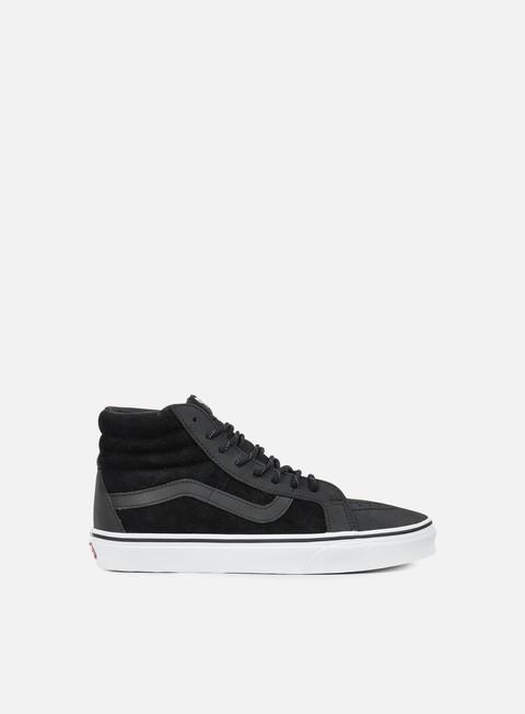 sneakers vans sk8 hi reissue dx transit line black reflective