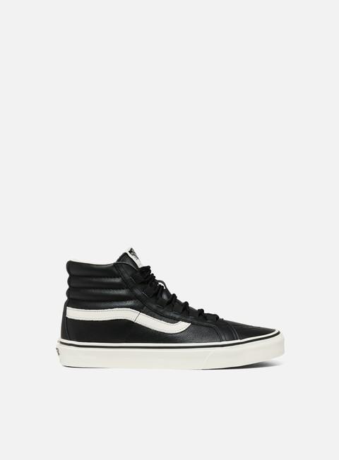 Outlet e Saldi Sneakers Alte Vans Sk8 Hi Reissue Ghillie Leather