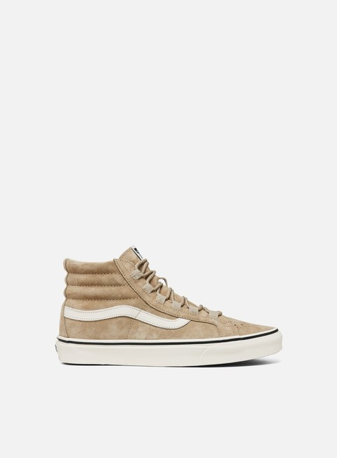 High Sneakers Vans Sk8 Hi Reissue Ghillie Pig Suede