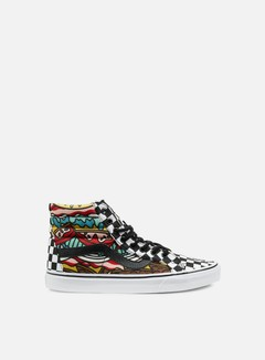 Vans - Sk8 Hi Reissue Late Night, Burger/Check 1