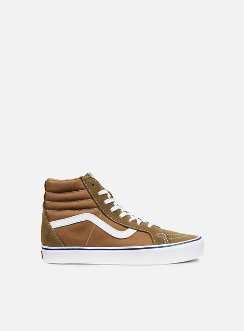 sneakers vans sk8 hi reissue lite throwback teak ermine