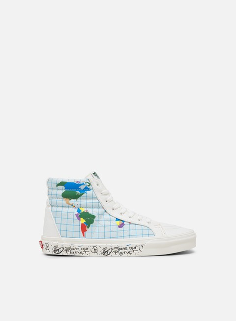 Sneakers Alte Vans Sk8 Hi Reissue Save Our Planet