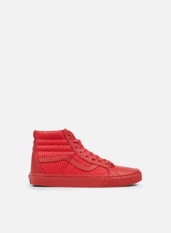 Vans - Sk8 Hi Reissue Snake Leather, Chili Pepper