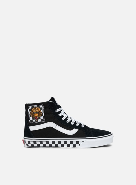 High Sneakers Vans Sk8 Hi Reissue Tiger Check
