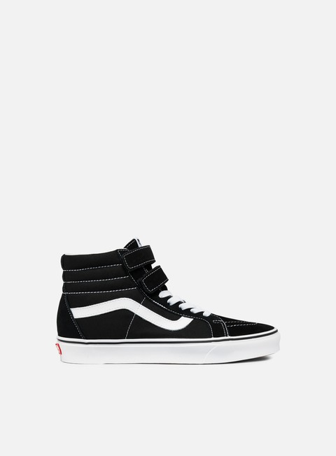sneakers vans sk8 hi reissue v black true white