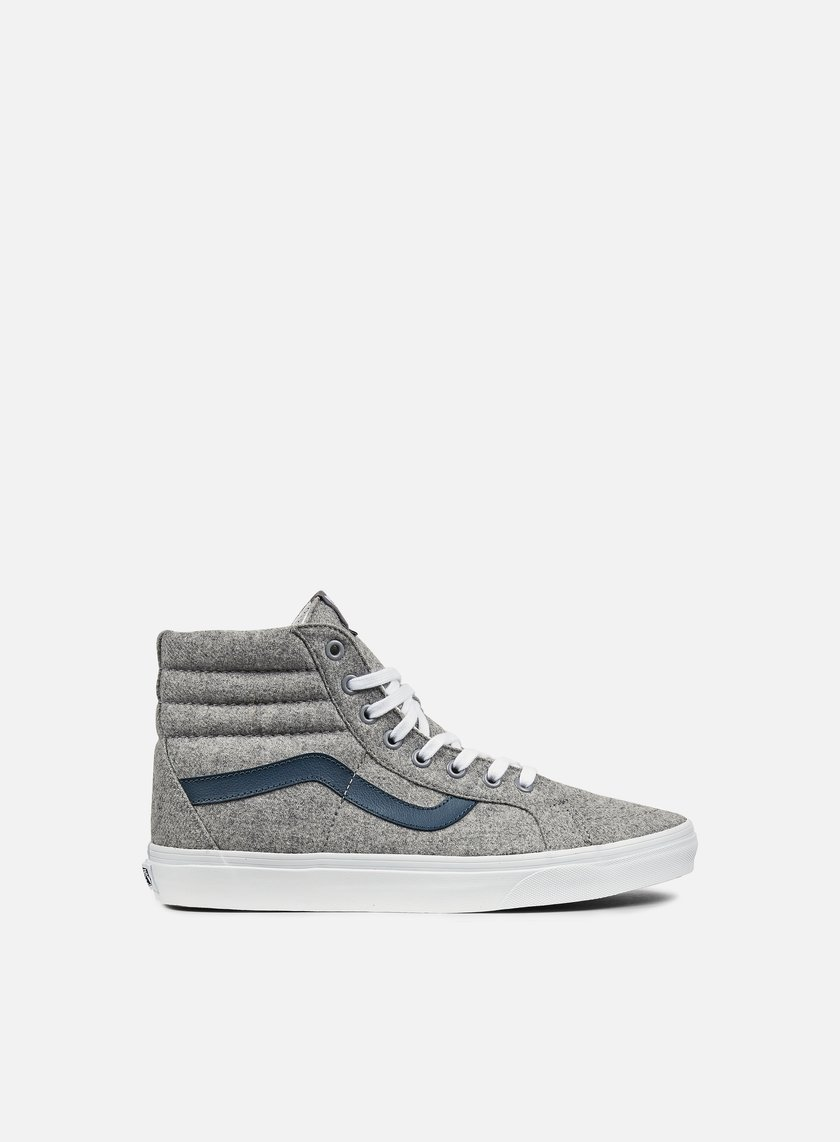 Vans - Sk8 Hi Reissue Varsity, Gray/True White