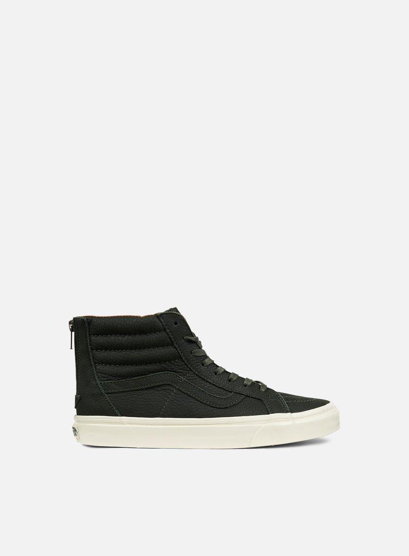 VANS Sk8 Hi Reissue Zip Premium Leather € 63 High Sneakers ... 1e0ce3aab