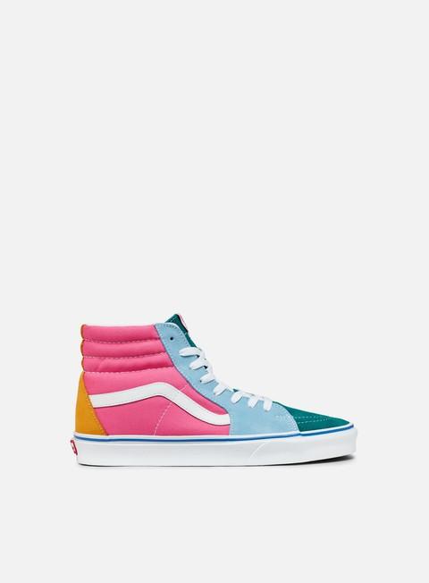 Outlet e Saldi Sneakers Alte Vans Sk8 Hi Suede/Canvas