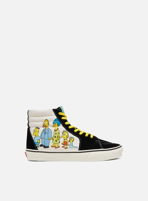 Sneakers Alte Vans Sk8 Hi The Simpsons