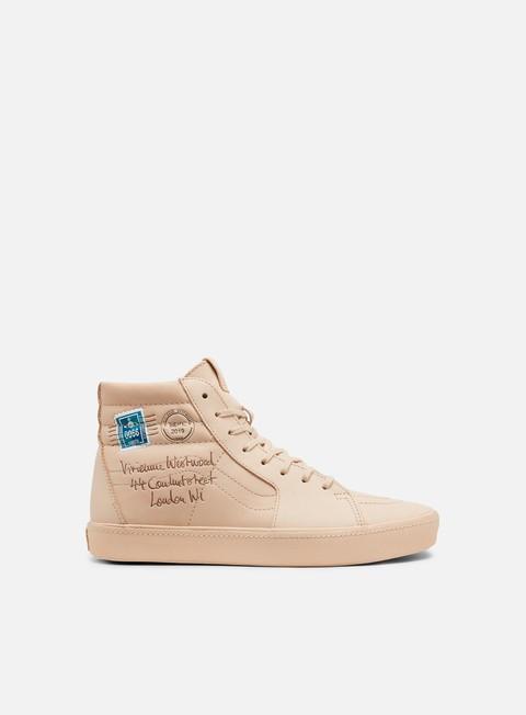 Outlet e Saldi Sneakers Alte Vans Sk8 Hi Vivienne Westwood