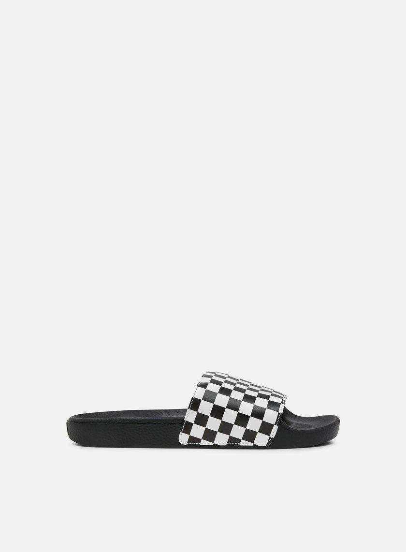 Alta qualit Vans Ciabatte Slide On Checkerboard vendita