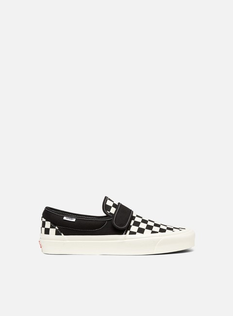 sneakers vans slip on 47 v dx anaheim factory og black checkerboard