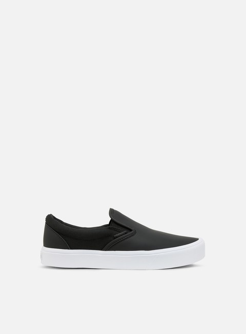 sneakers vans slip on lite rains black true white