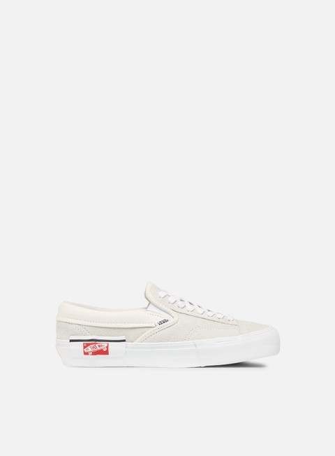 sneakers vans slip on lx cut and paste marshmallow true white