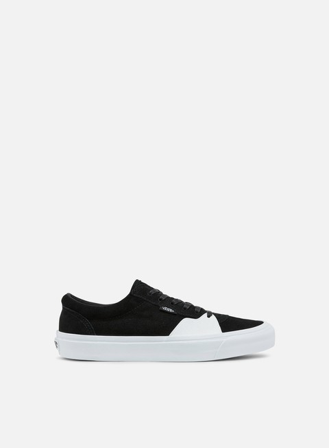 sneakers vans style 205 dipped black true white