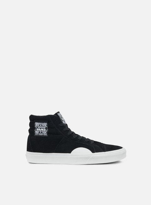 sneakers vans style 238 native suede black white