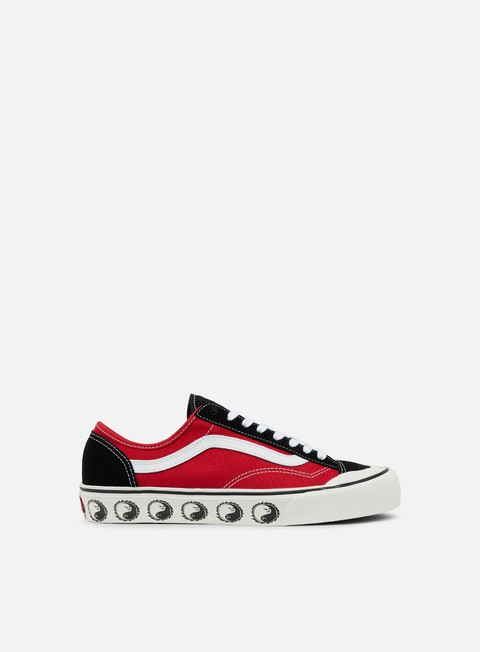 sneakers vans style 36 decon dane reynolds black red