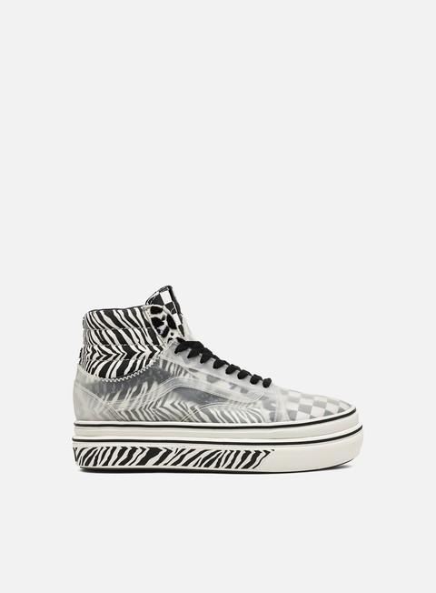 Outlet e Saldi Sneakers Alte Vans Super ComfyCush Sk8 Hi Mixed Media