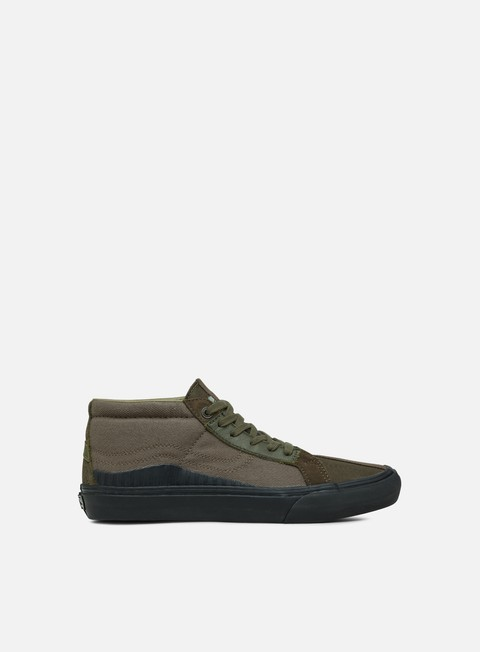 Outlet e Saldi Sneakers Basse Vans TH 138 Mid LX Suede/Canvas/Leather