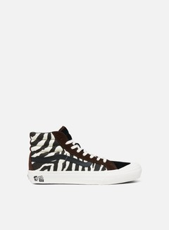 Vans - TH Style 138 LX Suede/Canvas, Zebra