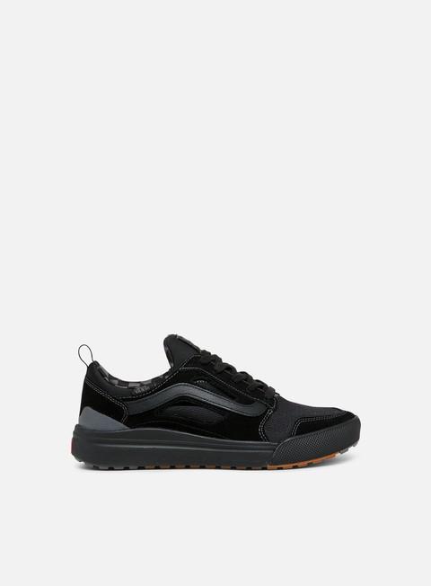 sneakers vans ultrarange 3d black asphalt