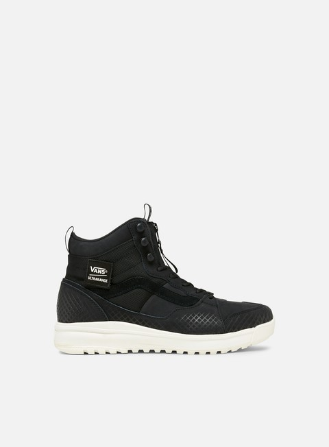 sneakers vans ultrarange hi dx black marshmallow