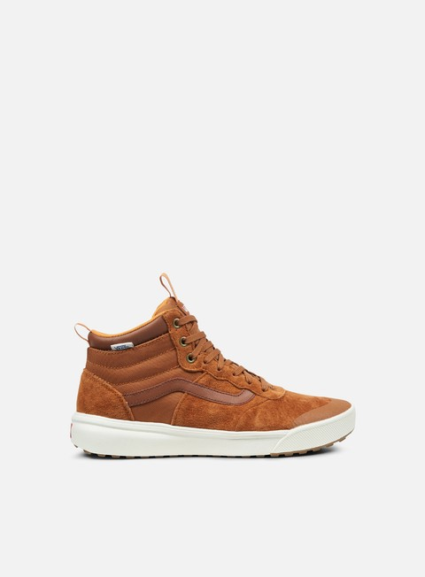 sneakers vans ultrarange hi mte glazed ginger
