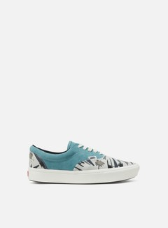 Vans - Vault ComfyCush Era LX Suede/Canvas, Mineral Blue/Island Beach