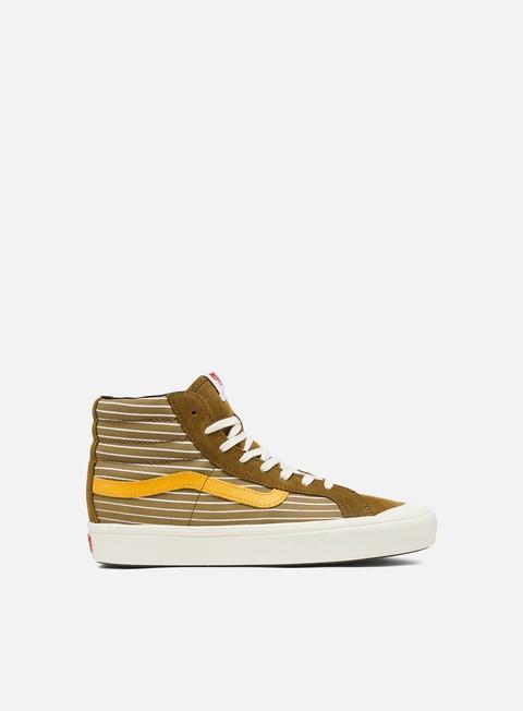 vans uomo gold