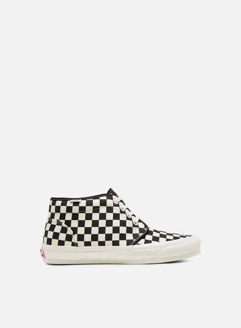 Sale Outlet High Sneakers Vans Vault OG Chukka LX Canvas/Checkerboard