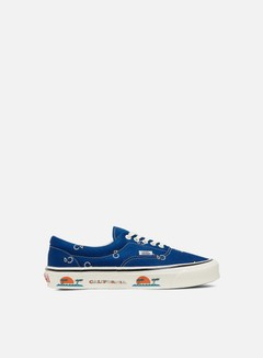 Vans - Vault OG Era LX Paisley, True Blue/White