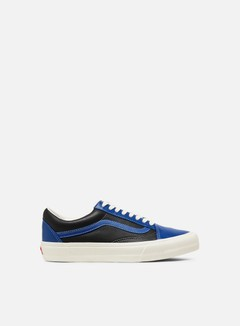 Vans - Vault OG Old Skool LX Leather, True Blue/Marshmallow
