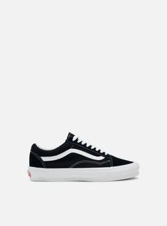 Vans - Vault OG Old Skool LX Suede/Canvas, Black/True White