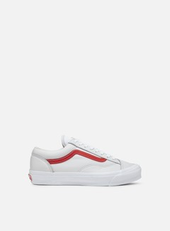 Vans - Vault OG Style 36 LX Leather, Red/True White