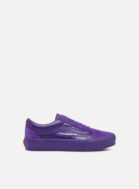 Skate Sneakers Vans Vault Old Skool VLT LX Croc Skin